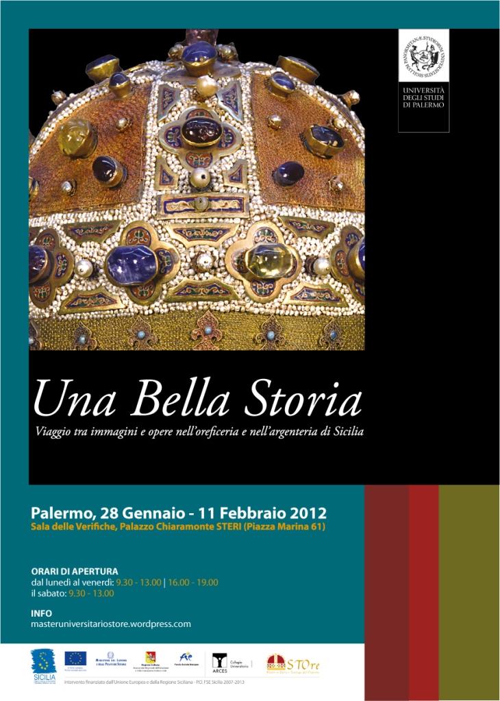 Mostra: Una Bella Storia. Viaggio tra immagini e opere nell'oreficeria e nell'argenteria di Sicilia